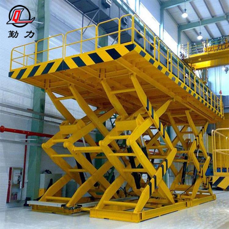 碧桂园集团自动化剪叉式升降平台