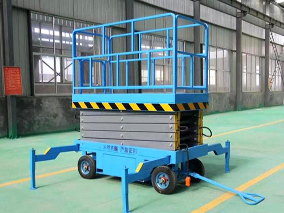 广东移动剪叉升降平台正确的使用及维护方法