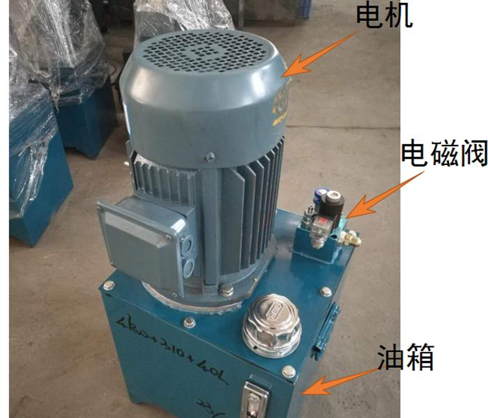 液压升降平台液压泵站