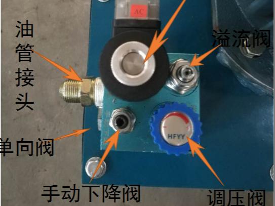 剪叉升降平台电磁阀的作用