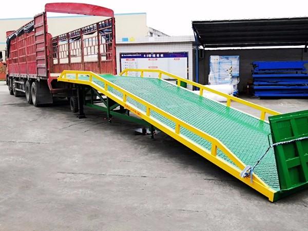 移动式登车桥使用进需要注意哪些问题?