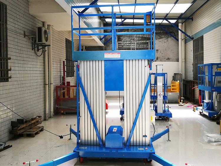 铝合金升降机的使用方法
